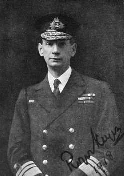 Admiral Sir Roger Keyes, WWI (World War One, Great War) to 1918