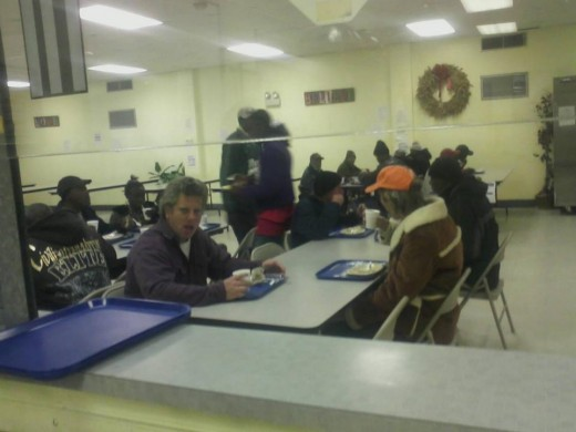 Upon taking my son to volunteer at this local food pantry/soup kitchen my heart was pricked as I interviewed our guest. I realized that most of them was not bums as we often stigmatized them, but was met with a series of unfortunate Circumstances.