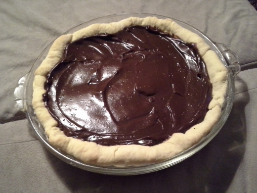 Fill and either cook your pie in the oven or chill it in the refrigerator.