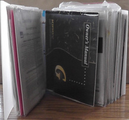 A household binder gives the homeowner a place to keep owner's manuals and warranties.