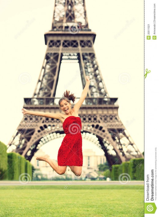 another cute girl in Paris