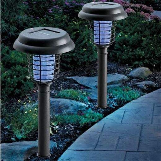 Solar lighting for gardens