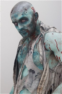 Picture of real zombie I took this afternoon. That's a lie.