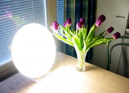 A light therapy box can be used daily as a way to mimic sun exposure.