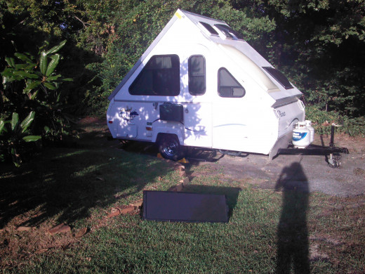 Boondocking in Georgia with My First Solar Kit Setup