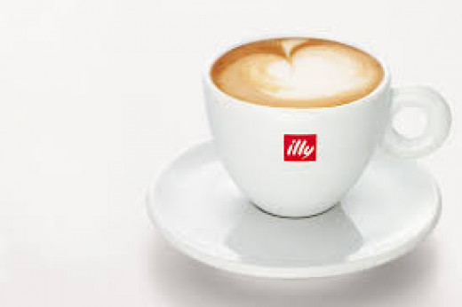Illy coffee founded in Italy.