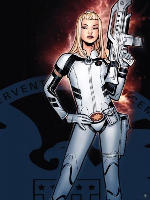 Dazzler Agent of S.H.I.E.L.D. Costume