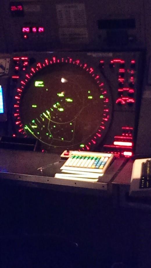 The radar in TraCon.