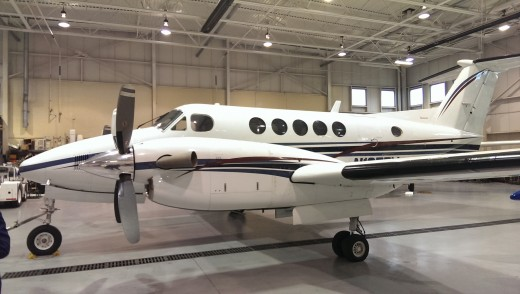 King Air (there were two on display).