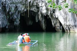 Boat Ride Through the Subterranean Underground River
