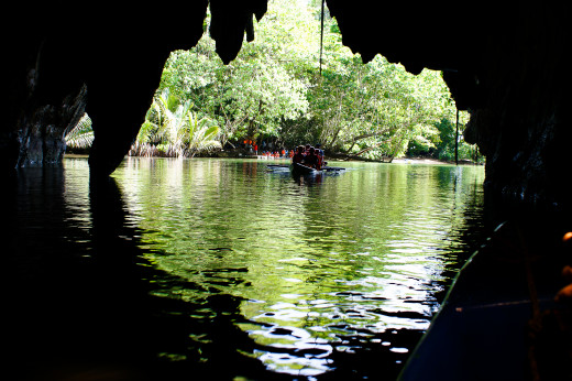 Boat Ride Through the Subterranean Underground River
