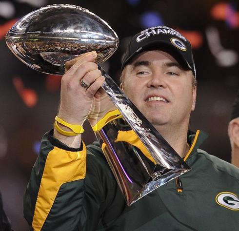Super Bowl Coach Mike McCarthy