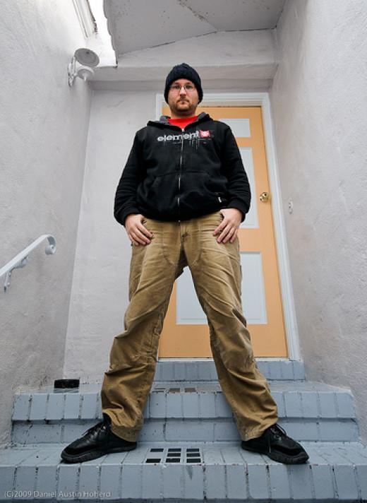 I am the doorman from Daniel Hoherd flickr.com