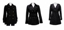 Cheap Black Pea Coats for Women
