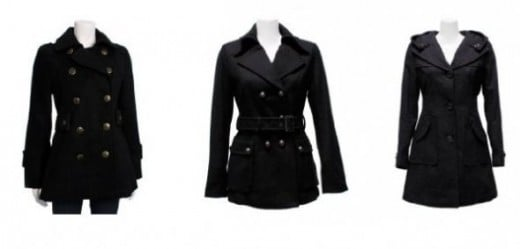 Cheap Black Coats