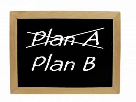 Everyone should have a Plan B