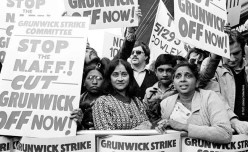 from A Squandered Life / Grunwick '77