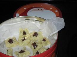 Star Cookies, plain no sugar coating