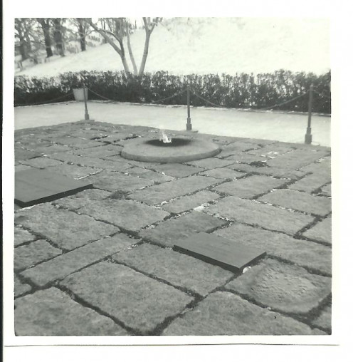 In the 1960s, we lived through three major assassinations of our leaders, including a President. The grave site of President John F. Kennedy, killed 50 years ago, now includes two brothers. This place will give definition to my life forever.