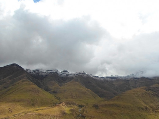 Maluti Mountains, Lesotho © Martie Coetser