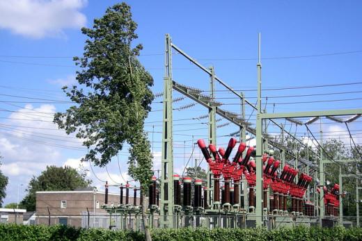 Substation Bolsward, The Netherlands