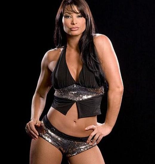 Former WWE Diva, Victoria