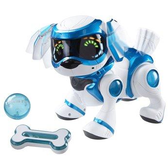 Blue Teksta Puppy