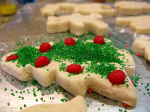 Yes, you can bake Christmas cookies. Get to it- you won't have to look far to find someone willing to eat them.