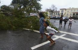 an unusual storm