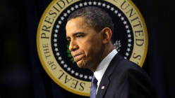 It might not seem possible that President Obama could do more harm to his credibility and