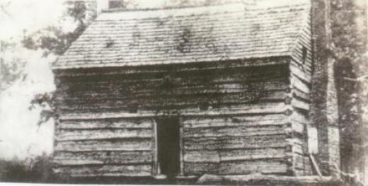 The original Little Pigeon Baptist Church