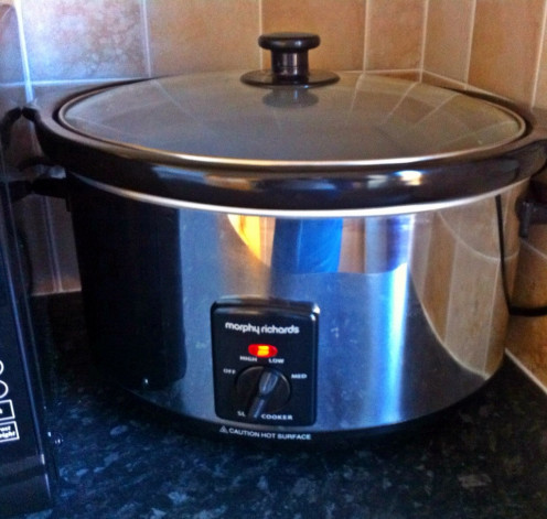 This is the Slow Cooker I have, but there are lots on the market and all very good