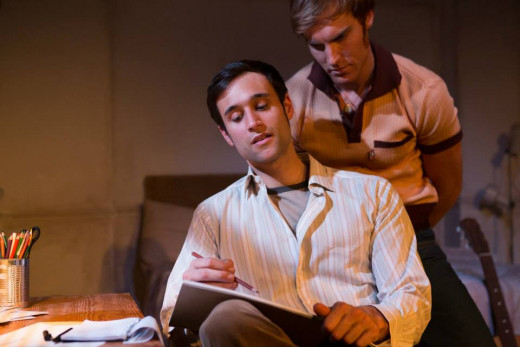 James Cartwright (Simon) and Rik Makarem (Toby)