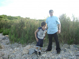 Matty and me (Ed) at Montauk Point