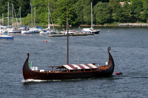 Ships like this one allowed for the Viking invasion, drastically influencing the English language.