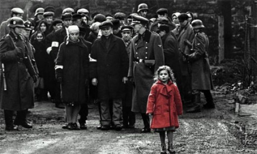 The little girl in red is one of the most memorable entities in the movie.