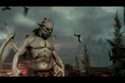 Skyrim boasts some of the best looking vampire models next to Legacy of Kain and Castlevania.