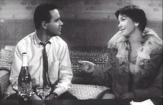 Jack Lemmon and Shirley MacLaine