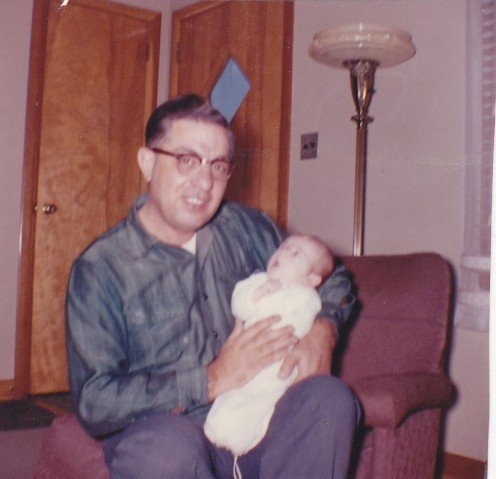 Dad Couchara and baby mar (1962)