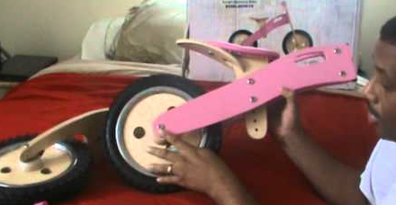 The Bubbleicious Balance Bike is very easy to assemble and sturdy. If you want something that is inexpensive, this balance bike is quality and will last forever.