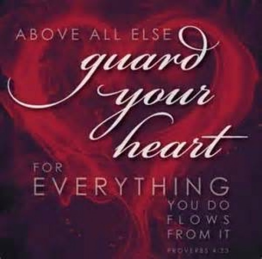It is your responsibility to guard your heart