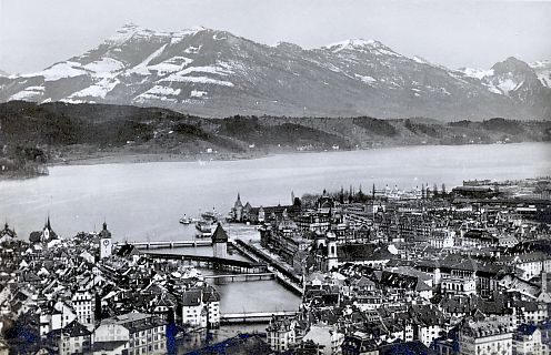 Lucerne and the Rigi