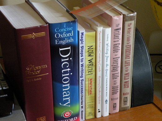 Use dictionaries and other resources to help with editing your writing.