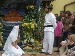 Twelve Tribes wedding.