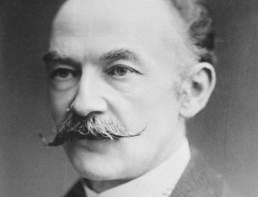 Thomas Hardy...and his moustache