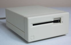 The external floppy drive.