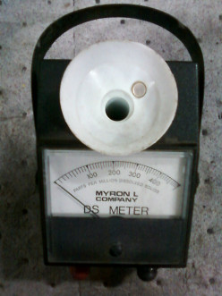Does anyone out there know what a Myron L DS meter is used for sampling?