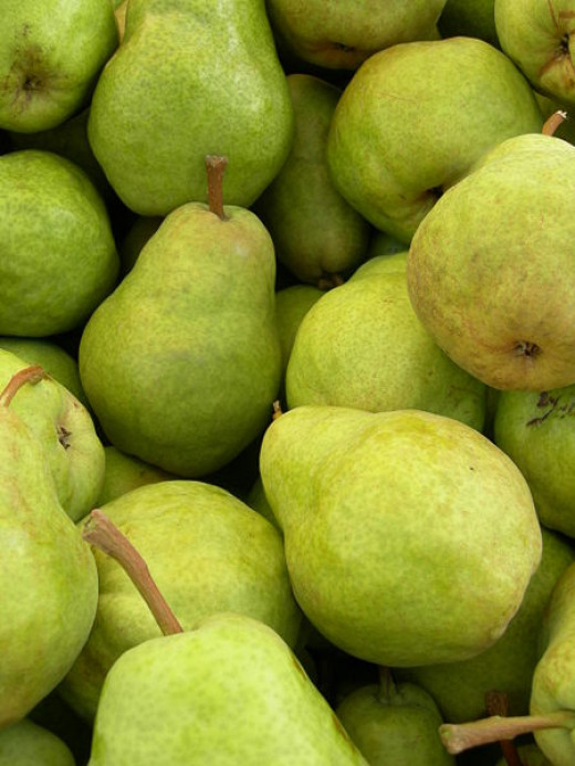 Pears are amongts the helathiest of all fruits. See a summary of their nutrients and fabulous new ways to enjoy them
