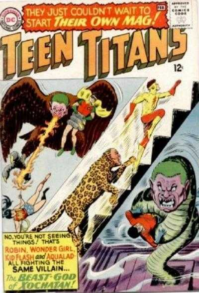 Teen Titans # 1 February 1966 by Bob Haney