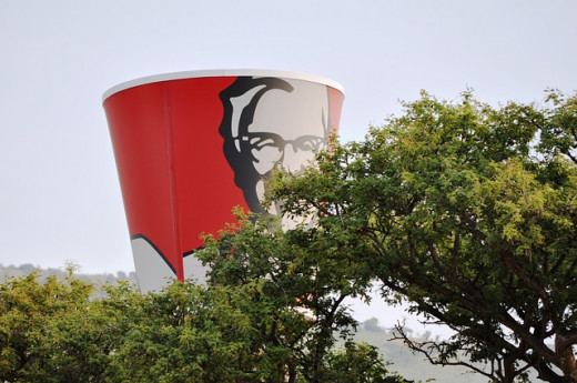 It looks like the Colonel is watching.
